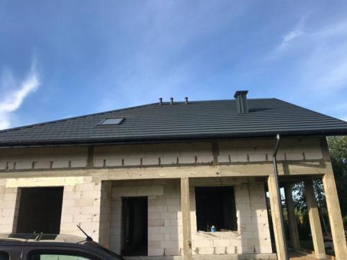 Realizacja - pokrycie dachowe